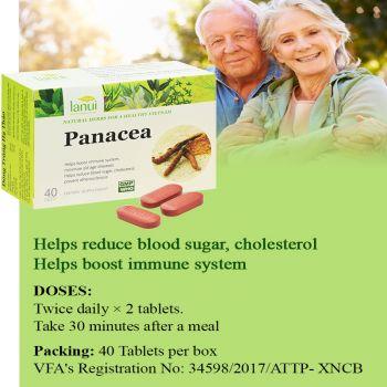 Viên uống LANUI® PANACEA - Đông Trùng Hạ Thảo Tăng sức đề kháng
