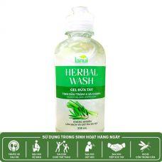 LANUI® HERBAL WASH | Gel Rửa Tay Khô Thảo Mộc (Tinh dầu Tràm & Sả chanh)
