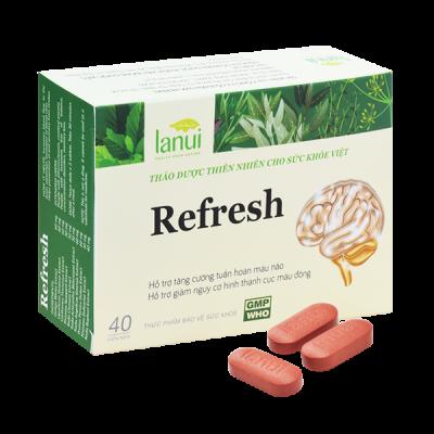 Viên uống Bổ Não LANUI REFRESH
