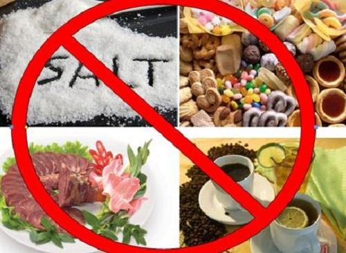 thực phẩm kiêng ăn khi bị đau khớp gối